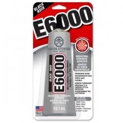E6000 - Colle noire 59.1 ml